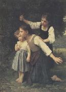 Dans le bois (mk26), Adolphe William Bouguereau