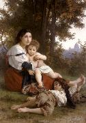 Rest (mk26), Adolphe William Bouguereau