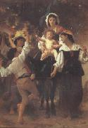 Return from the Harvest (mk26), Adolphe William Bouguereau