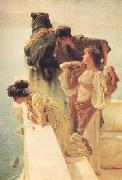 Alma-Tadema, Sir Lawrence A Colen of Vantage (nn03) oil painting