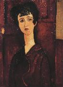Portrait of a Girl (mk39), Amedeo Modigliani
