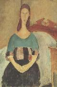 Amedeo Modigliani Jeanne Hebuterne (mk38) oil painting reproduction