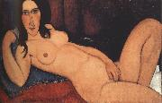 Reclining Nude with Loose Hair (mk39), Amedeo Modigliani