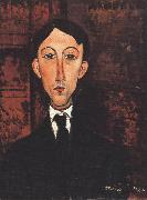 Portrait of Manuell (mk39), Amedeo Modigliani