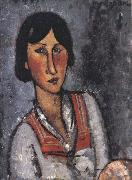 Portrait of a Woman (mk39), Amedeo Modigliani
