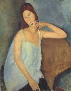 Amedeo Modigliani Jeanne Hebuterne (mk38) oil painting on canvas
