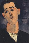 Portrait of Juan Gris (mk39), Amedeo Modigliani