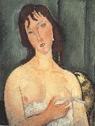 Portrait of a Young Woman (mk39), Amedeo Modigliani