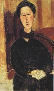 Portrait of Anna Zborowska (mk39), Amedeo Modigliani