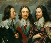 Charles I in Three Positions (mk25), Anthony Van Dyck