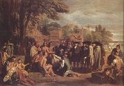 William Penn's Treaty with the Indians (nn03), Benjamin West