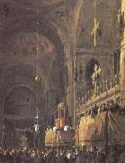 Interior of San Marco (mk25), Canaletto