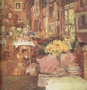 The Room of Flowers (nn03), Childe Hassam
