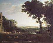 Claude Lorrain Landscape with a Sacrifice to Apolio (n03)