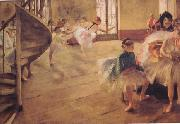 The Rehearsal (nn03), Edgar Degas