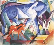 Franz Marc The First Animals (mk34)