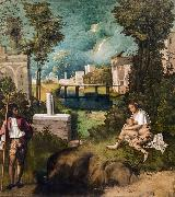 Giorgione The Tempest (nn03) oil painting
