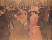 Henri  Toulouse-Lautrec Dance at the Moulin Rouge (nn03) oil painting