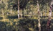 Isaac Ilich Levitan Birch Grove (nn02) oil painting