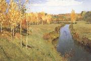 Isaac Ilich Levitan Golden Autumn (nn02) oil painting