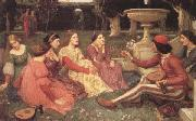 A Tale from The Decameron (mk41), John William Waterhouse