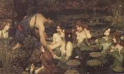 Hylas and the Nymphs (mk41), John William Waterhouse