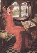 i and Half-sick of shadows said the Lady of Shalott (mk41), John William Waterhouse