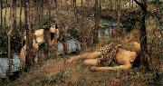 A Naiad (mk41), John William Waterhouse