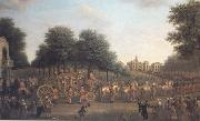 John Wootton George III's Procession to the Houses of Parliament (mk25) oil painting