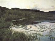 Kitty Kielland Summer Night (nn02) oil painting artist