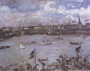 Lovis Corinth Emperor's Day in Hamburg (nn02) oil painting reproduction