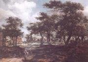 Wooded Landscape with Travellers (mk25)