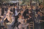 Pierre-Auguste Renoir Ball at the Moulin de la Galette (nn03) oil painting artist