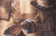 REMBRANDT Harmenszoon van Rijn Detail of The Nightwatch (mk33) oil painting reproduction
