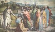 Raphael The Charge to St Peter (mk25) oil painting on canvas