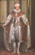SOMER, Paulus van James I (mk25) oil painting
