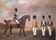 STUBBS, George Soldiers of the Tenth Light Dragoons (mk25)