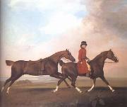 STUBBS, George William Anderson with Two Saddle Horses (mk25)