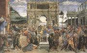 Sandro Botticelli Punishment of the Rebels (mk36) oil painting reproduction