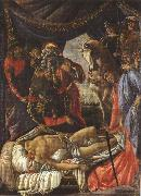 Discovery of the Body of Holofernes (mk36), Sandro Botticelli