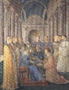 Fra Angelico,Ordination of St Lawrence (mk36)