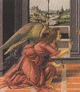 Details of Annunciation (mk36), Sandro Botticelli