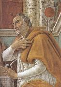 Details of  St Augustine in his Study (mk36), Sandro Botticelli