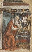 Domenico Ghirlandaio,St Jerome in his Study (m,k36), Sandro Botticelli