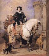 Queen Victoria on Horseback (mk25