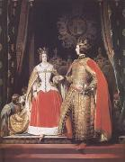 Queen Victoria and Prince Albert at the Bal Costume of 12 May 1842 (mk25)