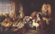 Sir Edwin Landseer Isaac Van Amburgh and his Animals (mk25) oil painting