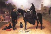 Sir Edwin Landseer Queen Victoria at Osborne House (mk25) oil painting reproduction