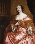 Sir Peter Lely Elizabeth Hamilton Countess of Gramont (mk25 oil painting