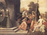 The Brunswick Monogrammist Elizabeth I and the three Goddesses (mk25) oil painting